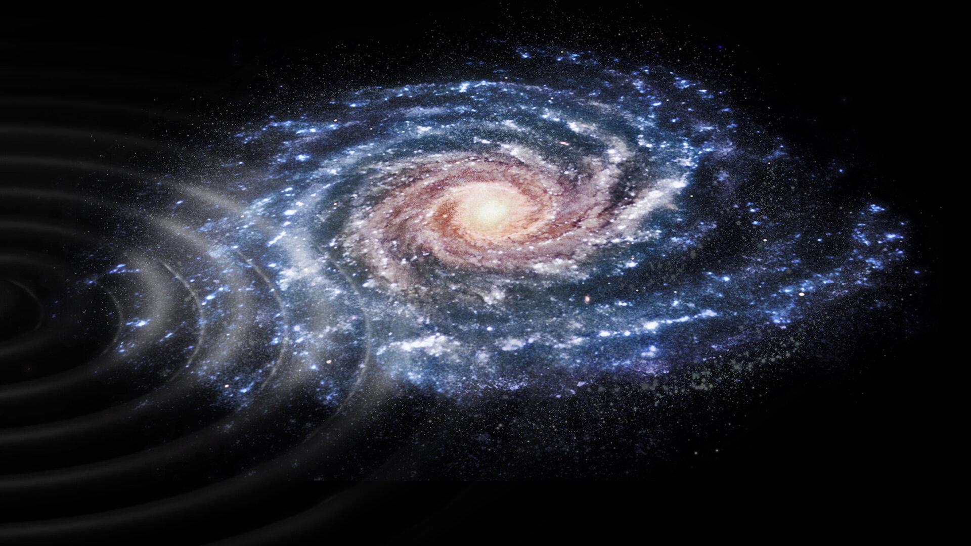 Ijesztő bejelentés: gyűrődni kezdett a galaxisunk, a tudósok rájöttek, hogy miért...