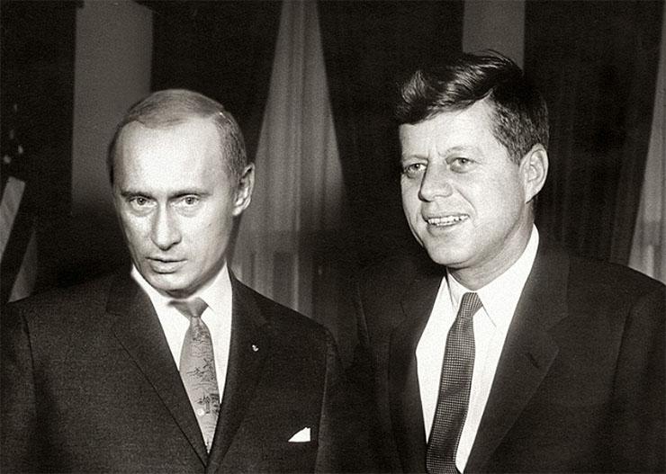 Putyin szerint is a CIA ölhette meg Kennedy elnököt?