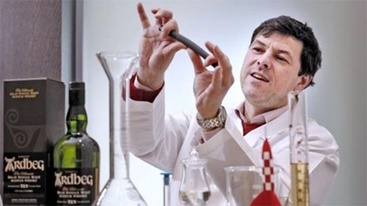 Az űr whiskey (Ardbeg márkájú) elemzése egy Földi laborban