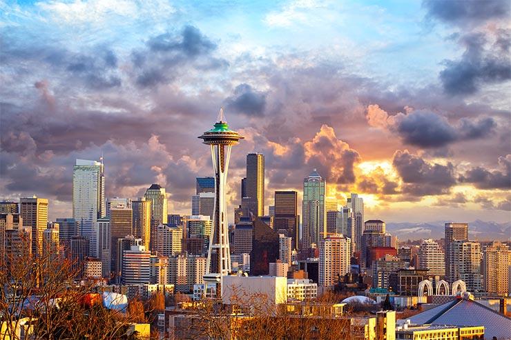 Seattle - a törésvonalon helyezkedik el