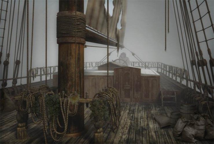 A Mary Celeste igazi szellemhajó képét mutatta a fedélzetére lépő matrózok számára