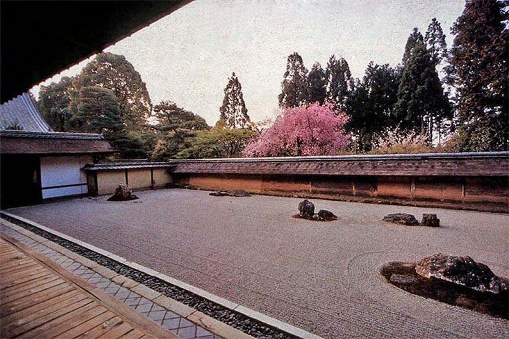Ryoanji-Templom-sziklakert
