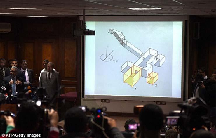 sajtótájékoztató: 90% hogy megtalálták Nofertiti sírját.