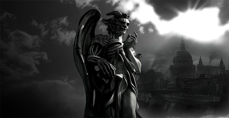 demoni-szobor